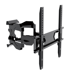 Low-profile Full Motion TV bracket up to 60 inch