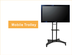 Movable,height adjustable, offering great viewing posisition
