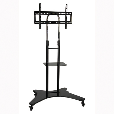Professional Mobile TV Trolley with camera holder