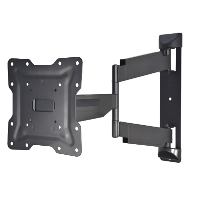 Heavy-duty low-profile full motion TV bracket for Curved TV & Flat Panel TV up to 43 inch