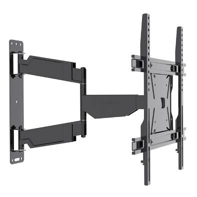 Heavy-duty low-profile full motion TV bracket for Curved TV & Flat Panel TV up to 60 inch