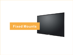 For space saving to use this fixed tv mounts